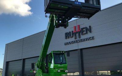 Nieuwe machine voor Rutten Hoogteservice